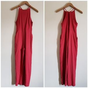 Urban Outfitters Pink Jumpsuit